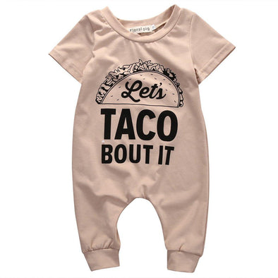Taco Bout It Jumpsuit - Urban Tots