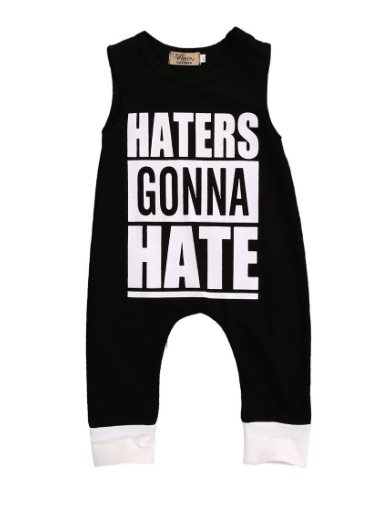 Haters Jumpsuit - Urban Tots