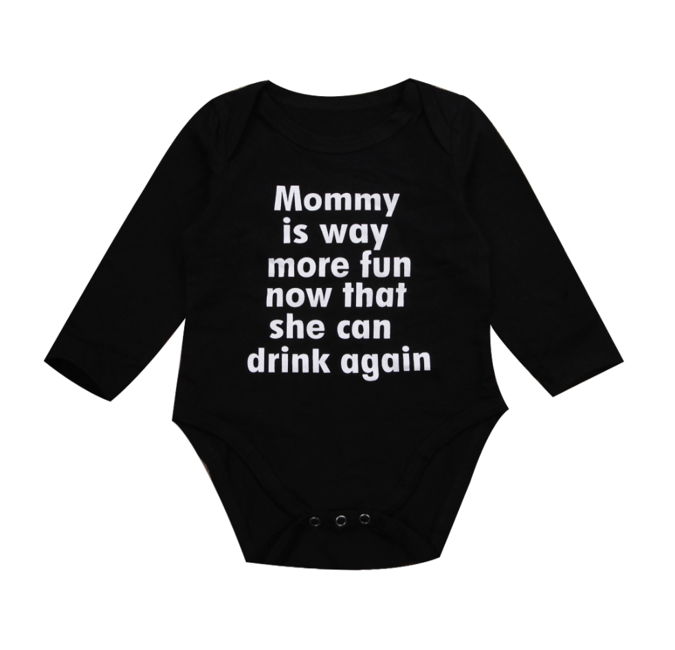 Mommy Can Drink Again Bodysuit | 3-18M - Urban Tots
