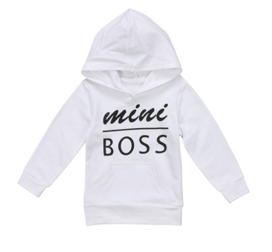 Mini Boss Sweatshirt - Urban Tots