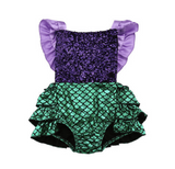 Mermaid Romper | 3-24M - Urban Tots