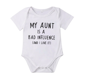 Bad Influence Bodysuit  | 3-24M - Urban Tots