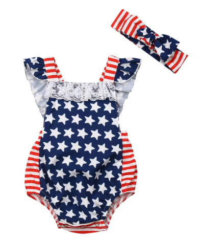 Independence Day Romper | 3-24M - Urban Tots