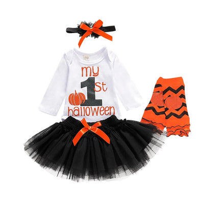 1st Halloween Tutu Skirt Set - Urban Tots