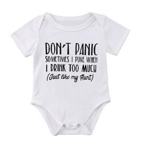 Don't Panic Bodysuit - Urban Tots