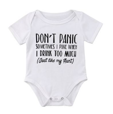 Don't Panic Bodysuit | 3-18M - Urban Tots