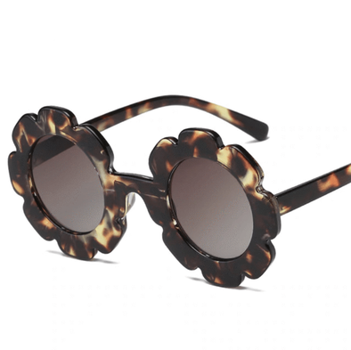 Flower Sunnies - Tortoise - Urban Tots