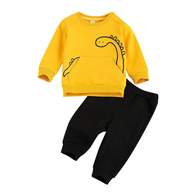 Dino Sweatshirt Set - Urban Tots