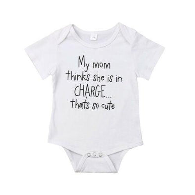 Mom's in Charge Bodysuit - Urban Tots