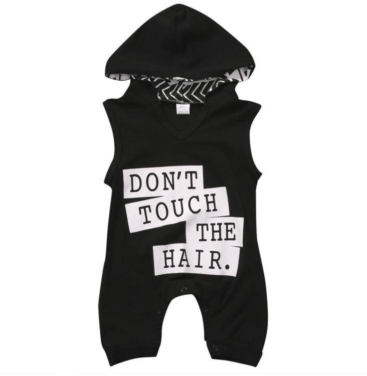 Don't Touch the Hair Onesie| 0-12M - Urban Tots