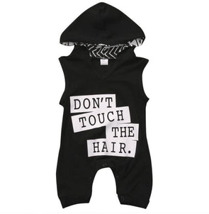 Don't Touch the Hair Jumpsuit| 0-12M - Urban Tots