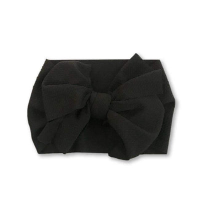 Wrap Headband - Black - Urban Tots