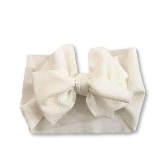 Wrap Headband - White - Urban Tots