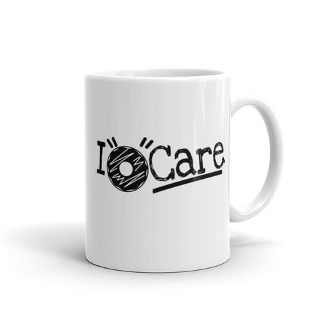 "I ""Donut"" Care Coffee Mug"