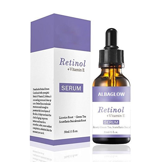 Albaglow Retinol Serum - Best Anti-Aging Serum