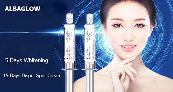 Albaglow Whitening Essence and Whitening Cream - 5 Days Face Whitening