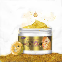 24K Gold Collagen Peel Off Facial Mask Face Skin Moisturizing Firming Anti Aging