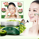 NR Mung Bean Mud Mask Unisex Skin Care Cosmetic Products Facial Acne Detox