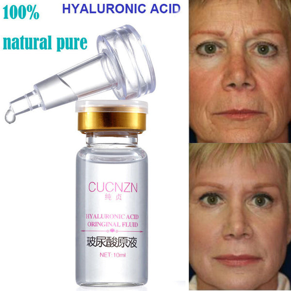 100% Natural PureFirming Collagen Strong Anti Wrinkle Hyaluronic Acid Serum New
