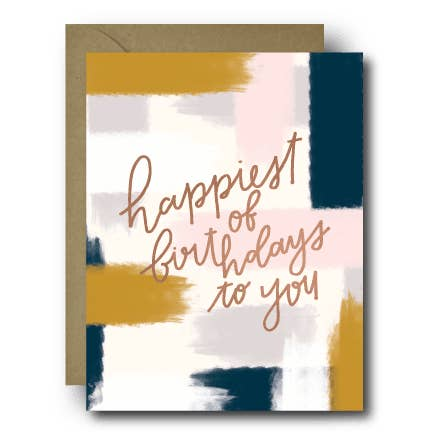 happiest of birthdays birthday greeting card