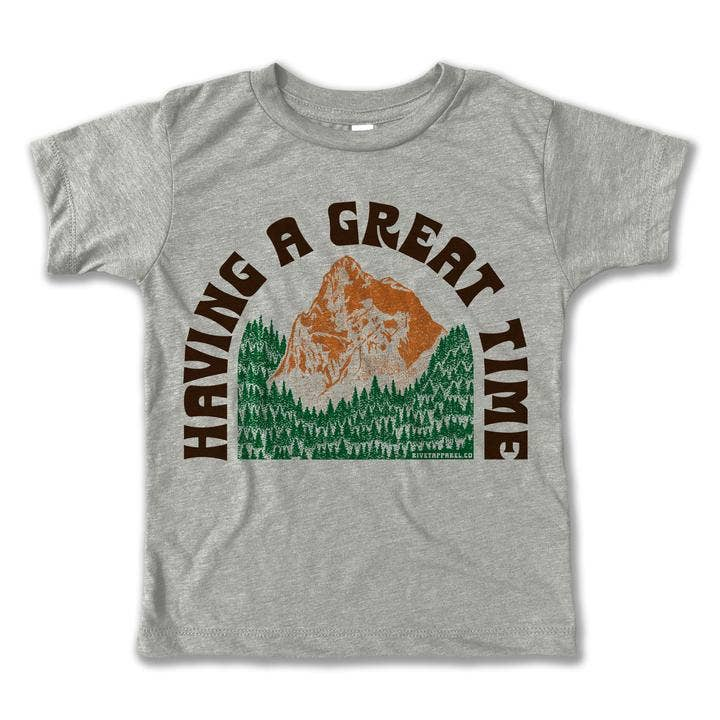 having a great time vintage tee