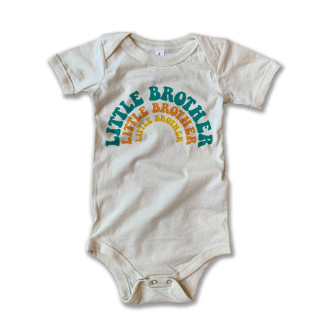 little brother vintage onesie