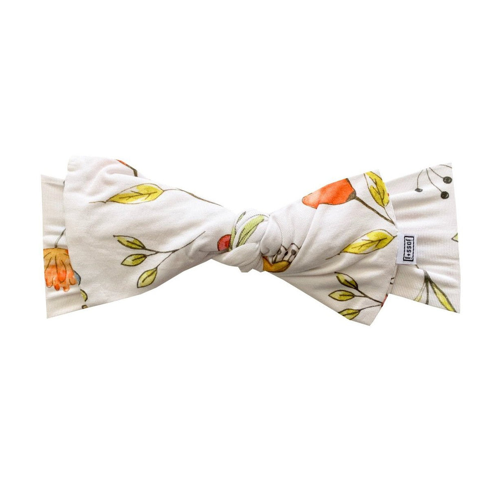 Load image into Gallery viewer, whimsical dancing blooms bamboo headband