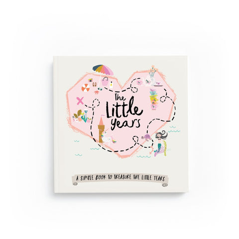little years toddler girl memory book