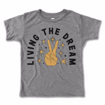 living the dream vintage tee