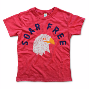 Load image into Gallery viewer, soar free vintage tee