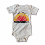 you are my sunshine vintage onesie