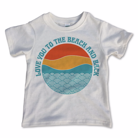 beach and back vintage tee