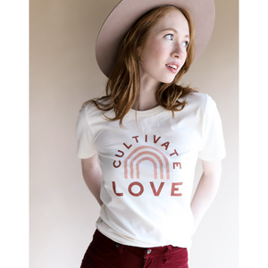 Load image into Gallery viewer, cultivate love tee