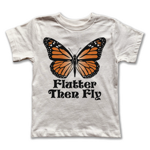 Load image into Gallery viewer, flutter then fly vintage tee