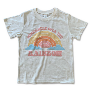 Load image into Gallery viewer, over the rainbow pastel vintage tee