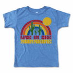 live in the sunshine vintage tee