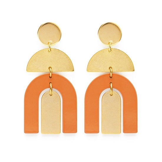 moab arches in desert earrings