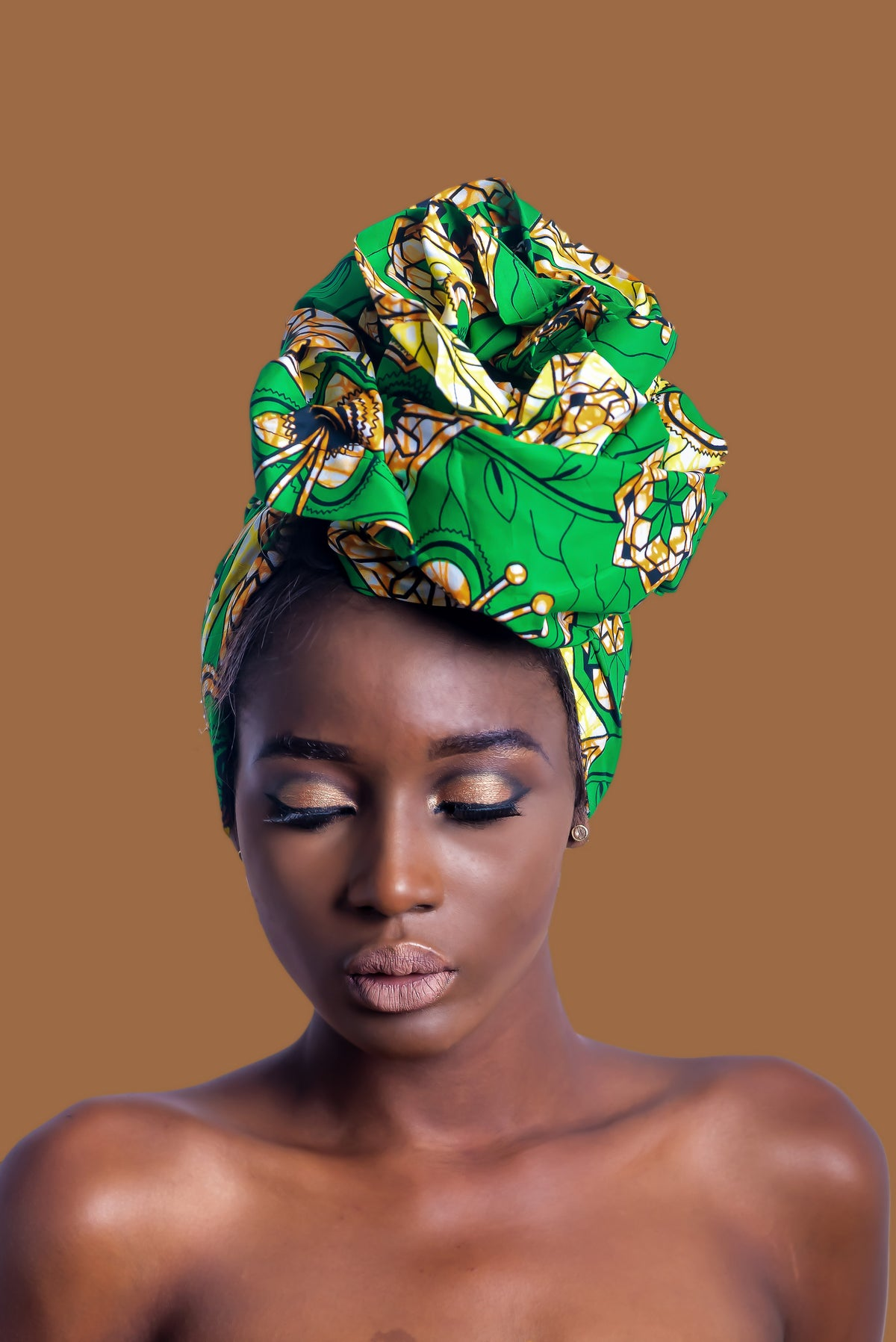 Candace African Print Headwrap