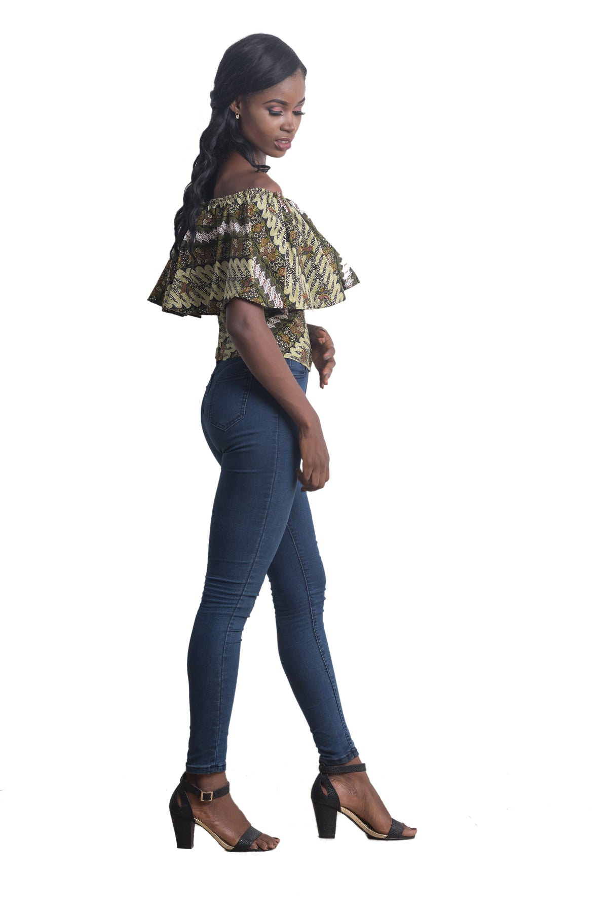 Afua Off-Shoulder Top