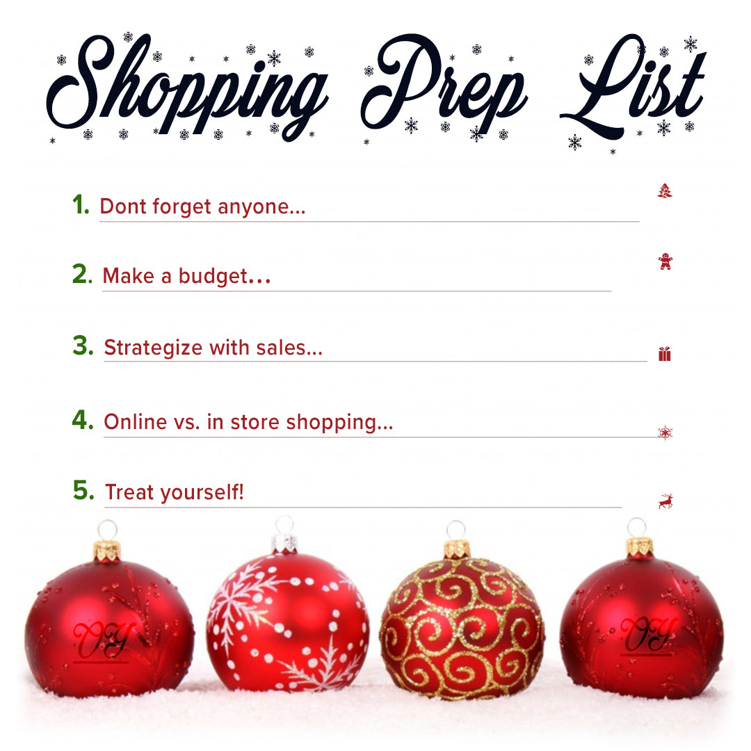 How To Prepare For Holiday Shopping