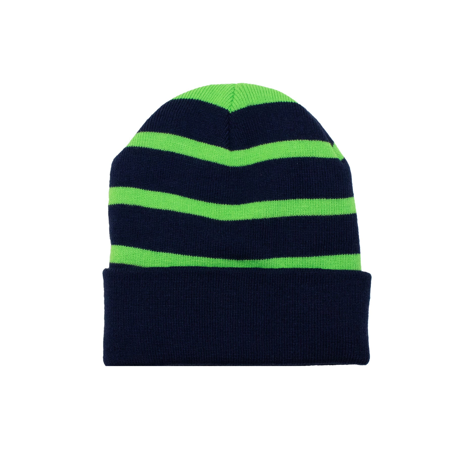 Hawks Stripe Patch Beanie