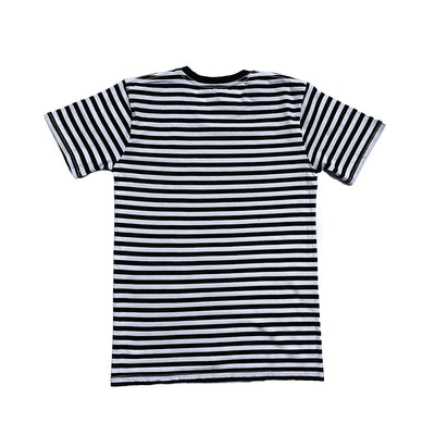 Oy brand stripe t-shirt back