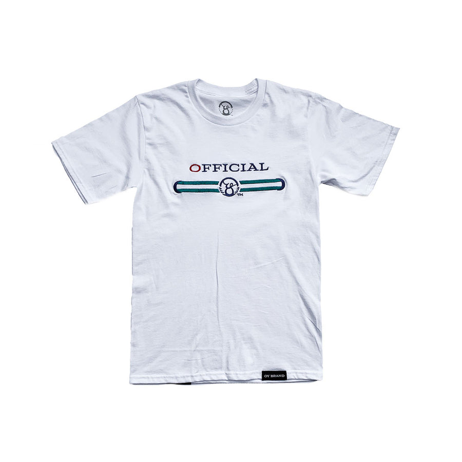 White Official Wing span tee