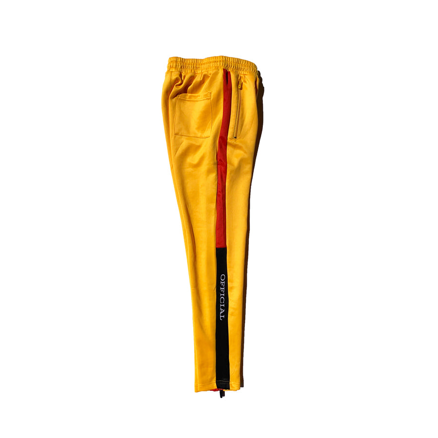Official Track Pants Yellow