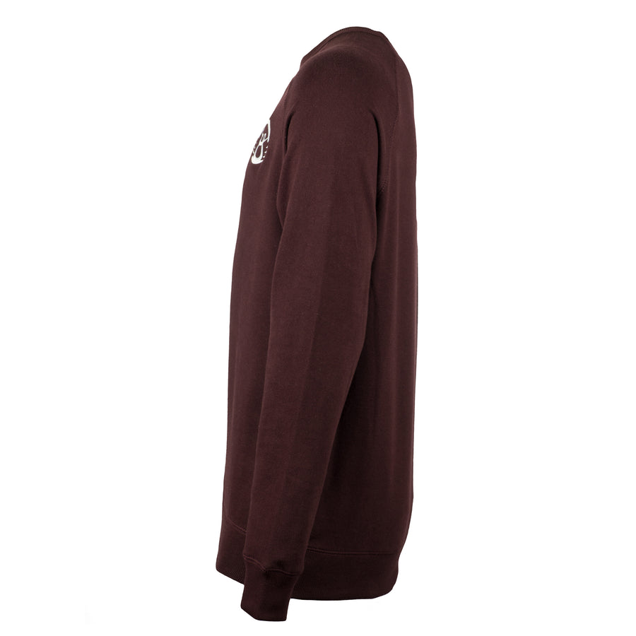 Oy Classic Maroon Crewneck Sweater