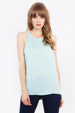 Light Blue Brittany Tank Top