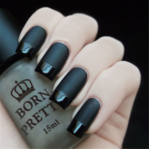 Super Matte Change Surface Glossy Oil Nail Polish Varnish - On Trends Avenue