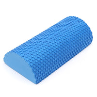 12in Half Round EVA foam Yoga roller Pilates Fitness Foam Roller Gym Exercise Fitness Yoga Blocks With Massage Floating Point - On Trends Avenue