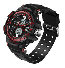 SANDA Fashion Watch Men Waterproof LED Sports Military Watch Shock Resistant Men's Analog Quartz Digital Watch relogio masculino - On Trends Avenue