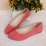 Available in Large Sizes Plus size 35-42 Ladies Pointed Toe Flat Shoes Women Flats Loafers Slip On Shoes Casual Womens Shoes Flats 12 Colors O058 - On Trends Avenue